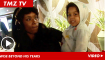 Jennifer Hudson's Son -- Sassiest Kid in Hollywood