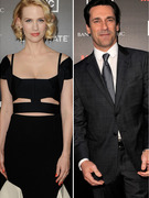 "January Jones' Sexy Look for ""Mad Men"" Season 5 Premiere"
