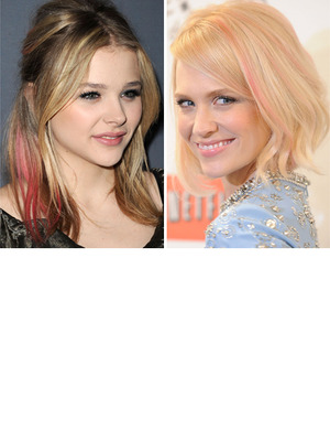 Hot Hollywood Trend: Pink Hair Streaks!