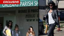 Russell Brand Leaves Police Station After Arrest