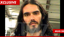 Russell Brand -- Arrested For Cell Phone Snatch & Smash