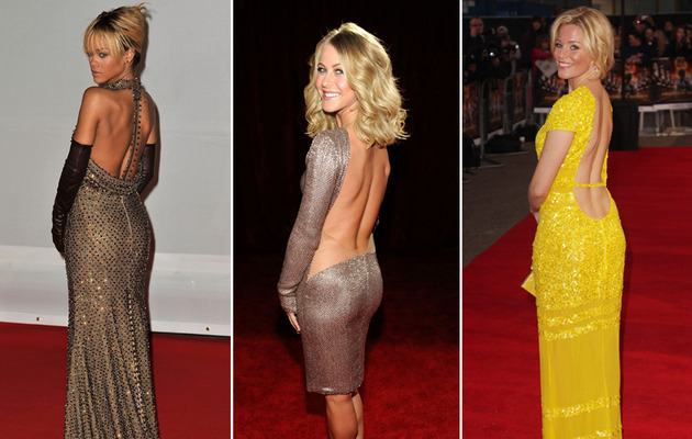 Stars' Sexy Backs