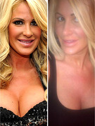 "Kim Zolciak Tweets ""Makeup Free"" Photo"