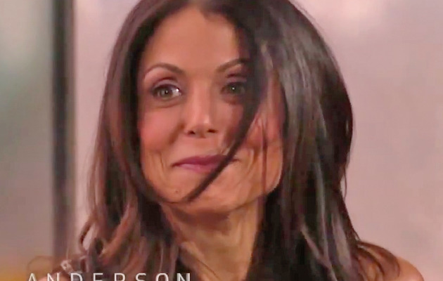"Bethenny Frankel Flashes ""Anderson"" Audience!"