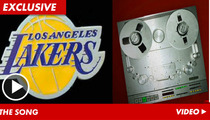 L.A. Lakers Sued Over Song -- Da Da Dad Danta Da  -- CHARGE!!!