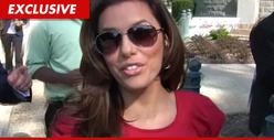 Eva Longoria's Bentley -- Backs That Ass Up ... Into Another Car