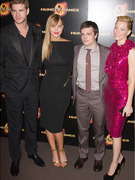 """The Hunger Games"": Elizabeth Banks Steals Spotlight in Paris!"