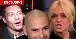 Pitbull -- If Ryan Seacrest Didn&#039;t Sue Me, Lindsay Lohan Shouldn&#039;t Either!