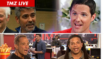 TMZ Live: George Clooney & Jason Russell -- Celeb Activists BUSTED