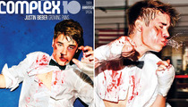 Justin Bieber Gets Beat Up for New Photo Shoot