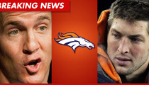Report: Peyton Manning Picks Denver Broncos ... Tim Tebow to Be Traded