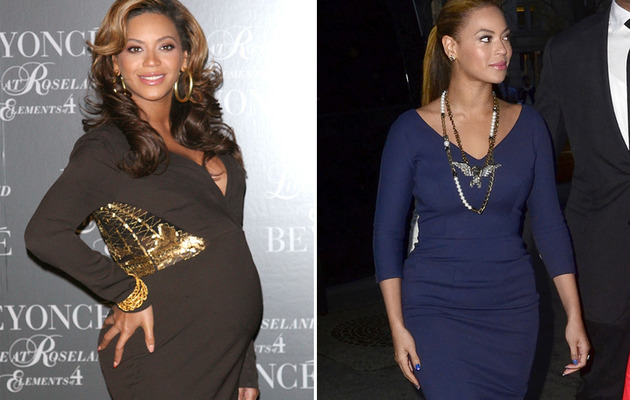 Beyonce Bounces Back to Pre-Baby Weight!