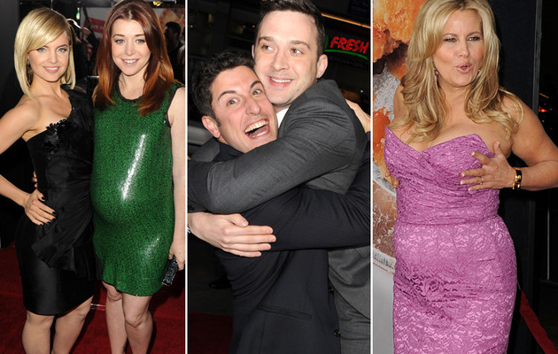 """American Reunion"" Premiere: Boobs & Bumps Steal the Show!"