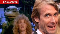 Michael Bay -- Leonardo AND April O'Neal Have My Back!