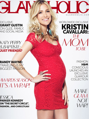 Kristin Cavallari Flaunts Bigger Bump on Magazine Cover