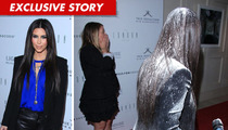 Kim Kardashian Flour-Bombed, Assaulted with White Powder