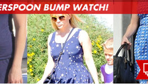 Reese Witherspoon -- Birthday Baby Bump?