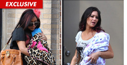 Snooki &amp; Jwoww -- Fake Babies for Fake Reality Show