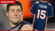 Denver Broncos -- Tim Tebow Gear Is SELLING OUT!