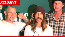 Red Hot Chili Peppers -- Merch Company Sues Over Bootleg Swag