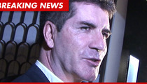 Simon Cowell to Cops -- Brick-Wielding Fan Just Broke Into My House!