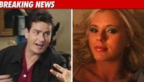 Charlie Sheen -- Dumped Via Text Message