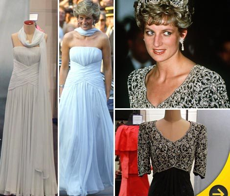 Prince Diana's Gowns Hit the Auction Block