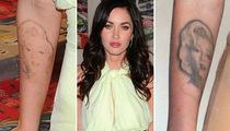 Megan Fox Removing Her Marilyn Monroe Tattoo?