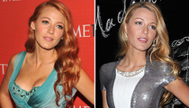 Blake Lively Goes Red -- Like the New 'Do?