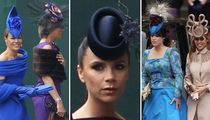 The Royal Wedding's Craziest Hat Ladies!