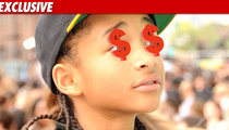 Jaden Smith -- Multi-Million $$$ Pay Out for 'Karate Kid'