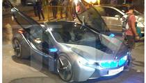 'Mission: Impossible 4' Car -- Bluing Itself Up in Mumbai
