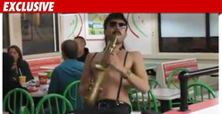 Sexy Sax Man -- Now Available for Delivery
