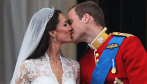 The Royal Wedding -- A Tongueless Affair