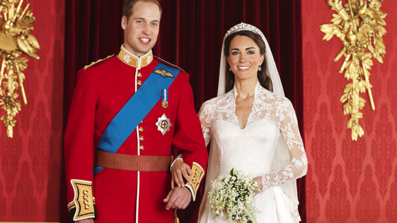 After the Royal Wedding -- Reception Pics, Official Portraits Released!