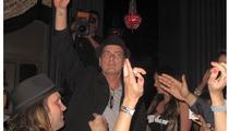 Charlie Sheen -- Back in Las Vegas
