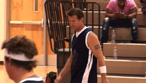 'Desperate' James Denton -- NO Game On the Court