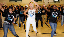 Beyonce Surprises Harlem School Flash Mob!