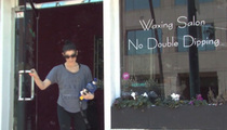 'Twilight' Star -- NEVER Double Dip the Wax