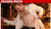 Jockey STRIPS At Derby Event -- AND THEY'RE OFF!