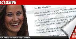 Pippa Middleton -- $5 Mil Porn Offer from the States