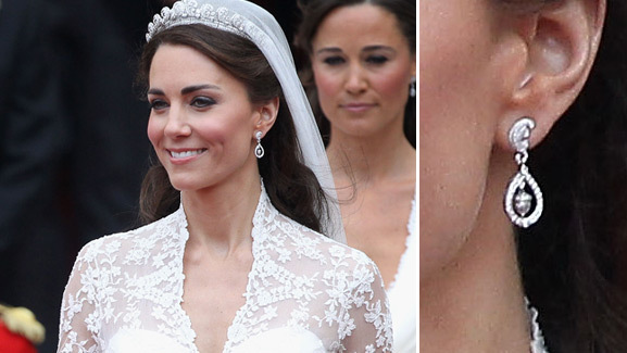 Kate Middleton's Wedding Earrings Recreated