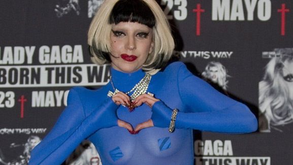 Listen Now: Lady Gaga Releases New Song, 'Edge of Glory'