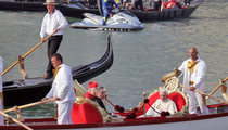 The Pope Floats -- Check Out My Holy Boat!