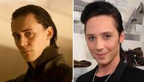 'Thor's Brother Is Johnny Weir?