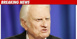 Evangelist Billy Graham -- Hospitalized with Pneumonia