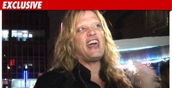 Sebastian Bach Arrested for MARIJUANA Possession 
