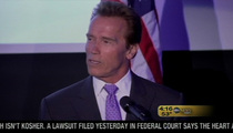 Arnold Speaks -- 'We Love Each Other Very Much'