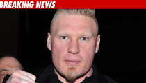 Brock Lesnar Bails On UFC 131 Over Stomach Issues