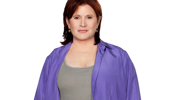 See Carrie Fisher's Weight Loss -- 30 Pounds Lighter!